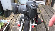 Homemade dSLR track dolly / slider (DIY, how to) with motor