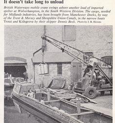 From the British Waterways Staff Magazine 'Waterways' September 1960 Narrowboat, Wolverhampton, Birmingham, Manchester, Westerns, September, British, Magazine, Queen