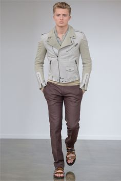 Sfilata Belstaff Milano Moda Uomo Primavera Estate 2013 - Vogue
