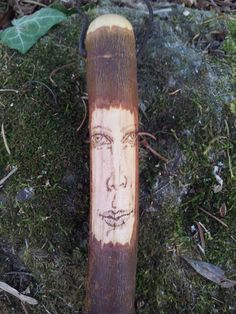 Willow Wand Wood Wand Tree Spirit Witchcraft by SpidertreeEmporium
