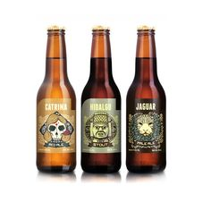 Beer labels: Mexican Beer Label Cerveceria Hacienda by Andrew Rose, via Behance