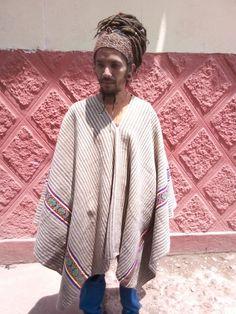 Authentic Vintage Alpaca Peruvian Poncho: Handwoven in the Andes Alpaca Poncho, Alpaca Wool, Mesoamerican, Big Hugs, Hand Weaving, Kimono Top, Trending Outfits, Building, Sweaters