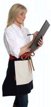 Bespoke Leather Aprons - The Traditional English Apron Company Leather Apron, Leather Label, Half Apron, Bespoke, Work Wear, Traditional, How To Wear, Fashion, Taylormade