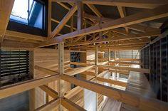 Japanese barn designed by Yukiharu Suzuki