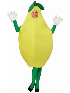 Adult Pear | Wholesale Food Halloween Costumes for Womens Costumes