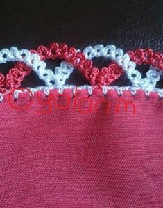 Watch This Video Beauteous Finished Make Crochet Look Like Knitting (the Waistcoat Stitch) Ideas. Amazing Make Crochet Look Like Knitting (the Waistcoat Stitch) Ideas. Crochet Boarders, Crochet Edging Patterns, Crochet Lace Edging, Crochet Motifs, Crochet Trim, Crochet Designs, Knit Crochet, Crochet Flowers, Filet Crochet