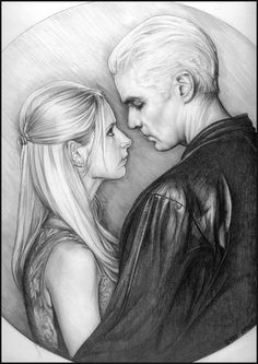 Buffy and Spike by ~CantonHeroine on deviantART