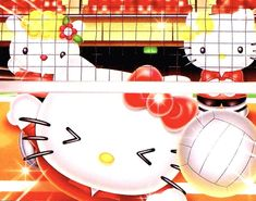 Sanrio, Hello Kitty, Japan, Volleyball, Babies, Fictional Characters, Friends, Amigos, Babys