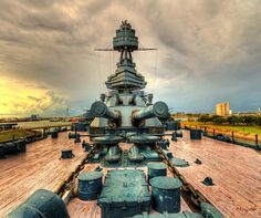 USS Texas, Battleship that is out near the San Jacinto monument ... wish to travel this bad boy again. super cool!