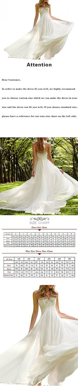 Favors Dress Women's Sweetheart Beach Wedding Dress Bead Bridal Gown Empire Ivory B 12