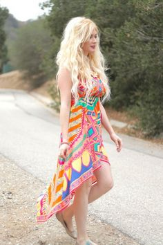 High Low Bohemian Festival Dress | Stylebiter gorgeous #FairyBitten fairy photography by Josie Tan Model: AmiBeth Olds