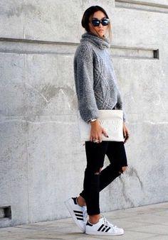 Pullover kombinieren: 50 coole Looks, die ihr ganz einfach nachstylen könnt