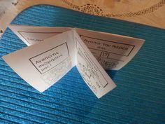 Πάω Α' και μ'αρέσει: Οδηγίες για δίπλωμα βιβλίου origami !