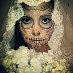 Dia de los muertos bride