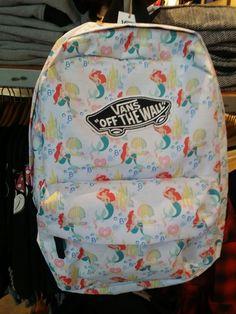 Vans little mermaid backpack
