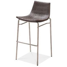 "DYNAMICS Stacking Bar Chair  AC7907C17RAT Width: 20 1/2"" Depth: 22"" Height: 42 1/8″ Seat Height: 31 1/2""  Wicker: 7125"