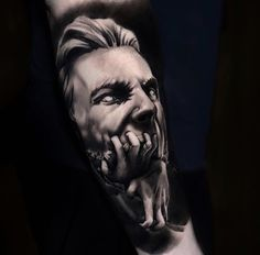 #tattoos #illustrationart #tattooart #art #artwork #statue Abstract Portrait, Black And Grey Tattoos, Life Tattoos, Tattoo Models, I Tattoo, Tattoo Artists, Illustration Art, Statue, Blackwork