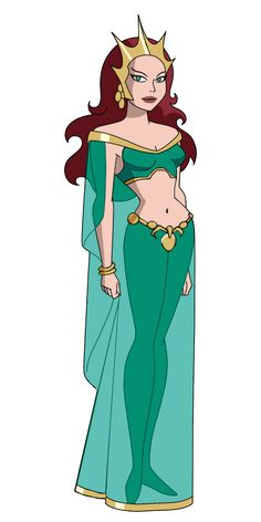 JL Queen Mera by Alexbadass.deviantart.com on @DeviantArt