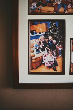 Grandchildren in framed picture behind plastic Grandchildren, Plastic, Mom, Frame, Pictures, Home Decor, Photos, Homemade Home Decor, A Frame