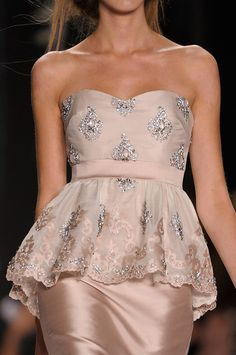 Badgley Mischka Spring 2013. love mischka. too bad I'm not skinny enuf for this!!!