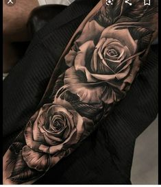 Rose sleeve tattoo - Galena U. - My list of best tattoo models