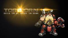 """Overwatch TORBJÖRN: """"Build 'em up, break 'em down"""""""