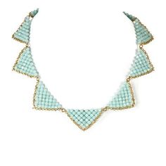Pop Tropez Necklace Mint, $148, now featured on Fab.