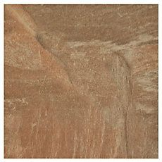 SKU: 912101434 Size: 6in. x 6in.  Spanish Steps Rust Porcelain Tile