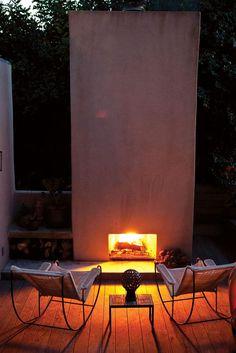 Silverlake garden by design firm Commune Los Angeles | Blackman Cruz chairs.