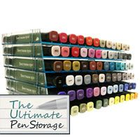 ordering this 6pk of racks for my posca pens...the ultimate pen storage