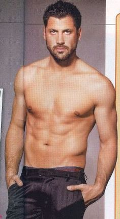Maksim Chmerkovskiy... Believe it or not, he's even hotter in person. So hot, I almost passed out lol