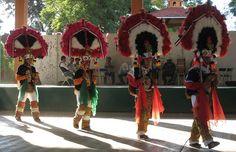 """Danza de la Pluma"" probably the most famous dance in Oaxaca."