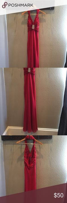 Red gown Gorgeous gown (I weighted about 100 pounds/45kg when I wear it) Dresses Prom