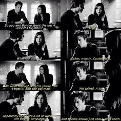 "#TVD 6x08 ""Fade Into You"" - Elena and Damon"
