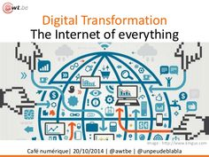 Digital Transformation & Internet of Everything by Agence Wallonne des Télécommunications via slideshare