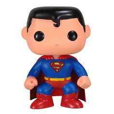 This Superman Pop! figure turns Superman from a man of steel into a cute, cuddly little bobblehead figure. Must have collectible Superman figure for fans!