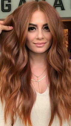 Balayage Hair Caramel, Auburn Balayage Copper, Copper Balayage Brunette, Balayage Hair Copper, Balayage Bob, Caramel Hair, Natural Red Hair, Warm Red Hair, Long Red Hair