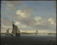 Marine. 1650. Salomon van Ruysdael  (Dutch, Naarden, born ca. 1600–1603, died 1670 Haarlem)