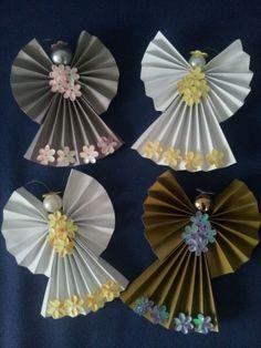 Resultado de imagen para origami angels