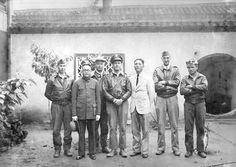 Doolittle Raiders Crew No. 2 in China with Chinese Nationals who helped them evade the Japanese April 1942.