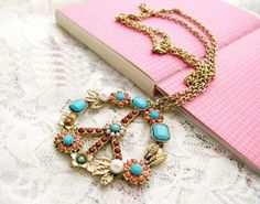CHIQ   Anti-War Blooming Necklace chicwish