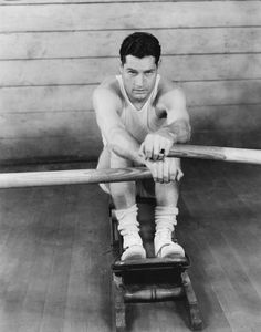 Vintage Workouts: Exercises We Still Do: Rowing