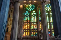 Cúpula interna de la Sagrada Familia