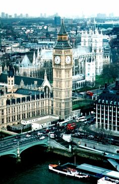 London. Gorgeous London. We will go someday.