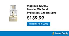 Magimix 4200XL BlenderMix Food Processor, Cream Save £140, £139.99 at John Lewis