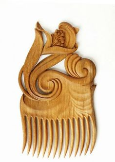 Carved comb