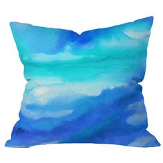 Rise Throw Pillow by Jacqueline Maldonado