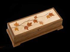 Knife & Fork Box | Craig Altobello - Marquetry - fine crafted art in wood