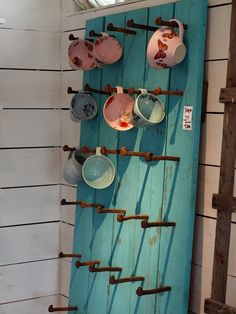 Display ideas - craft show display fixture to hang accessories or pottery
