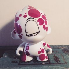 My work on urban toys. #kidrobot #character #fluidowear Custom